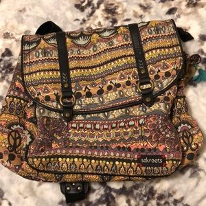 Sakroots Book-bag / Over-the-shoulder Purse